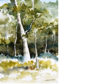 Off The Trail - Original Watercolor Painting