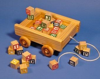 Alphabet Wagon