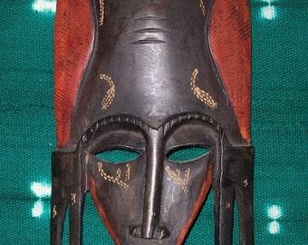 Masai Kenyan Mask