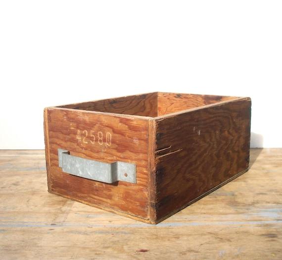 Boite En Bois Vintage : Homemade Wooden Tool Storage Boxes