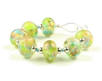 Tremaine  -  Handmade Lampwork Glass Beads