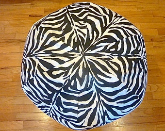 Zebra Bean Bag Chair Cover, Black and White, Stripes, Pattern,  Etsy Kids, Gifts Under 75