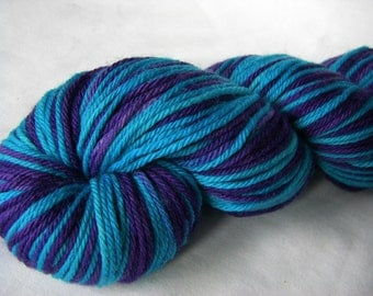 Self Striping Superwash Merino DK - Looking Forward