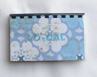 Handmade Lo-Cal Blank Recipe Book