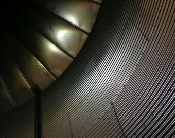 Metallic Ceiling - Digital Photo - Fine Art Print