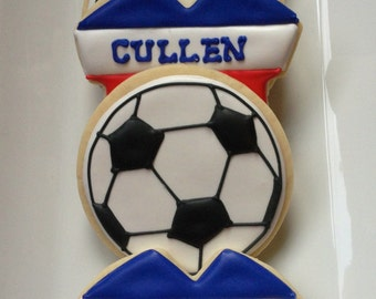 Soccer Sugar Cookie Collection