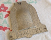 Vintage Southwestern Bell Aluminum Tag Plate