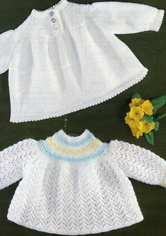 Knitting Pattern Angel Top : Knitting pattern baby sweater angel top baby girl baby