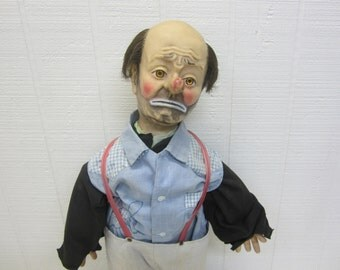 Vintage Clown Doll Emmit Kelly