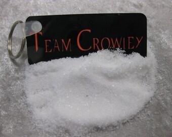 Team Crowley Supernatural TV series SINGLE-sided keychain