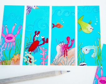 "Postcard- ""Under the Sea"" Mailable Art"
