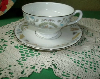 VIntage Fine China Japan Tea Cup and Saucer Set