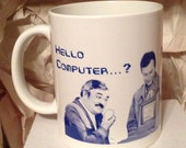 Scotty Hello Computer Star Trek Coffee Mug