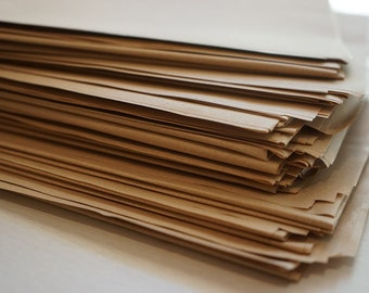 2 Extra Large Sheets Natural Kraft Wrapping Paper ~ *Gifts *Markets *Crafts *Books + Post!