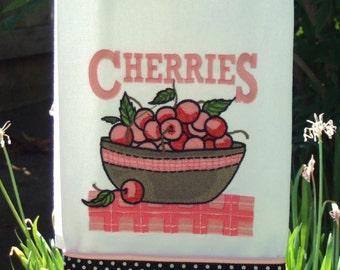Kitchen Towel - Cherries