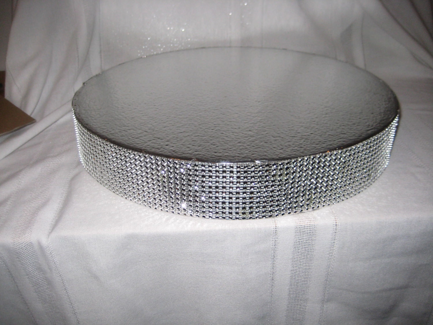 Bling Wedding Cake Stand 16 Inch Dazzling Diamonds
