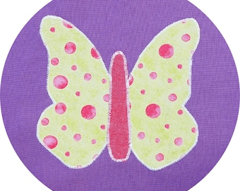 Butterfly Applique Pattern - Instant Download