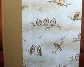 Medium Address Book Birds on Branches