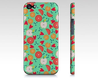 PHONECASE iPhone 5/5s Case Protective Phone Case Tropical Phone Case Tropical Design Green - Tropical Design