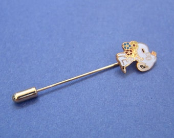 Vintage 1970's Aviva Snoopy Stick Pin Flower