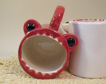 Red Monster Mug