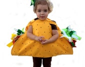 Fun 3D All Felt Baby Toddler or Child Taco Costume Lettuce Cilantro Tomatoes Ground Beef Corn Tortilla