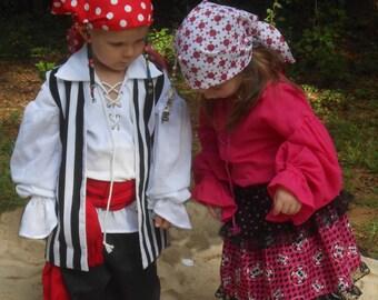 B116   Pirate Renaissance Sash Belt Child's