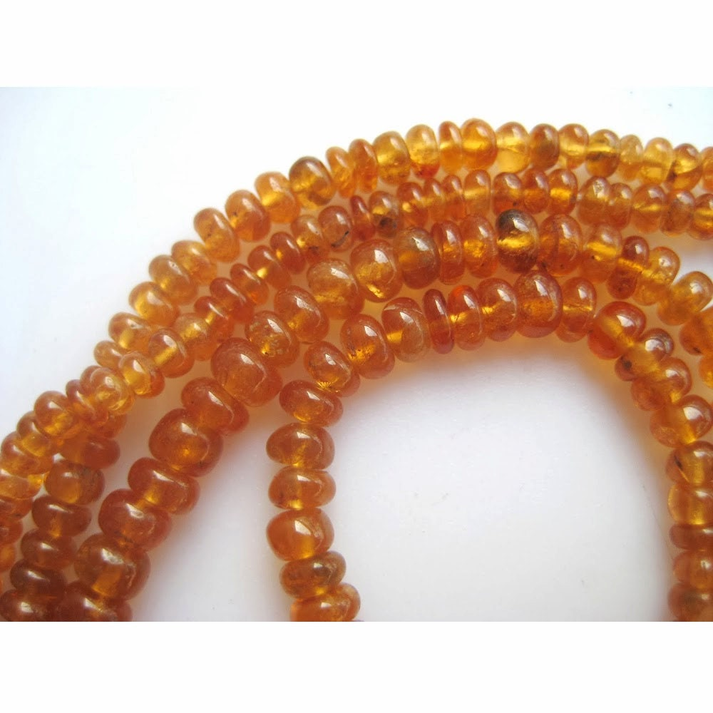 hessonite garnet aaagems garnet beads hessonite