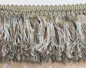 ivory and sage green 3.5 inches long fringe
