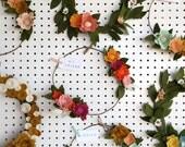 Custom Felt Wreath