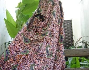 Comfy Roomy Cotton Printed Pants - B1003-13