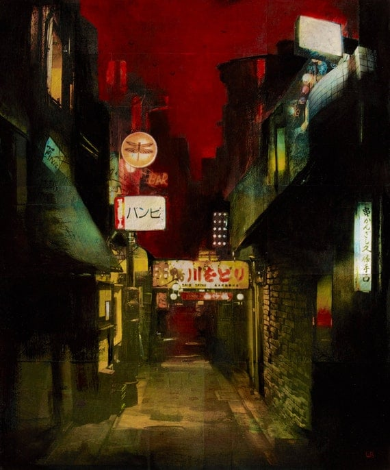 Kamogawa Odori - Tokyo Japan- Signed by the artist