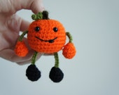 Pumpkin Pocket Pal - Ready to Ship -