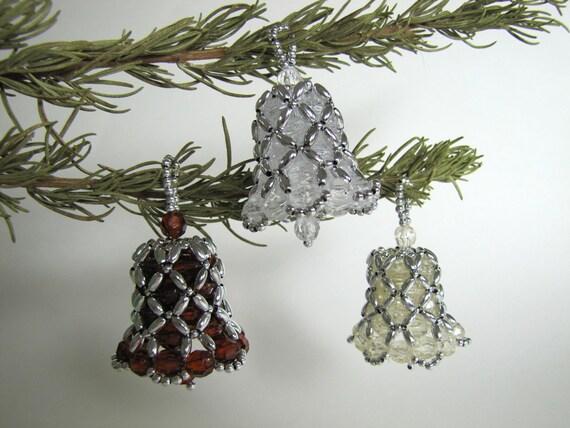 Beaded Ornament Kit Bell