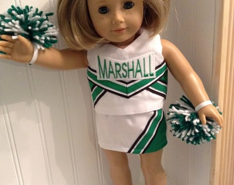 Design Your Own or Pick Your Team American Girl Doll Cheerleader Outfits