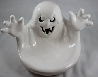 Ceramic Ghost Candy Dish