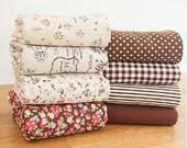 Cotton Linen Fabric Cloth -DIY Cloth Art Manual Cloth 55x18 Inches