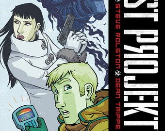 Ghost Projekt graphic novel