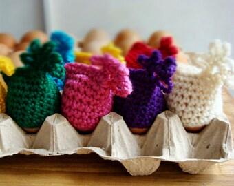 Crochet Easter Egg Covers Pattern, Easter Home Decor, Egg Cozy PDF PATTERN, 242