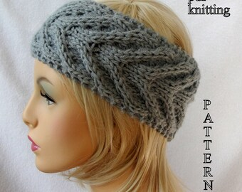 Knitted ear warmer Etsy
