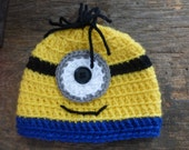 Monster Hat in Sizes 0 - 3 month to 6 - 12 months