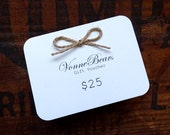 Gift Voucher - twenty five dollars - 25