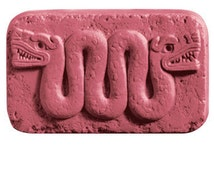 AZTEC SERPENT Glycerin Soap Bar Handcrafted Handmade 5 oz - U Pick Scent & Color