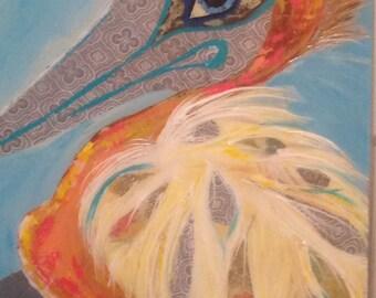 Pelican Paisley