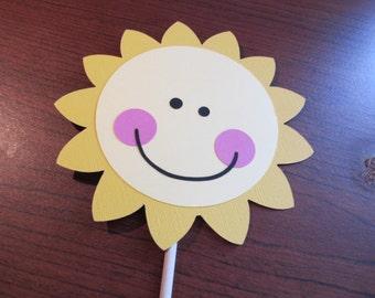 Sunshine Centerpiece - You Are My Sunshine - Sunshine Party - 1st Birthday - Sunshine Decor - 1st Birthday Decor. I am one - Sunshine Theme