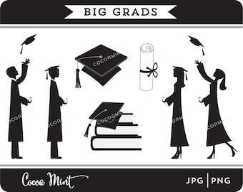 Big Grads Clip Art