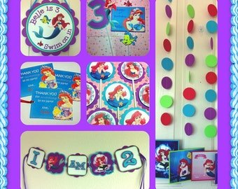 Disney Princess ARIEL - Deluxe Birthday Party  - The Little Mermaid