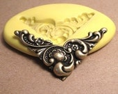 Victorian Corner - Flexible Silicone Mold - Push Mold, Jewelry Mold, Polymer Clay Mold, Resin Mold, Craft Mold, PMC Mold