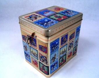 Cookie Tin Musical Box by Lambertz