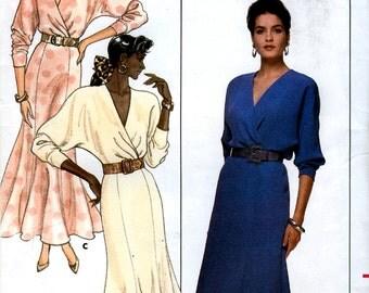 Butterick 5884 Misses' Dress Sewing Pattern - Uncut - Size 6, 8, 10